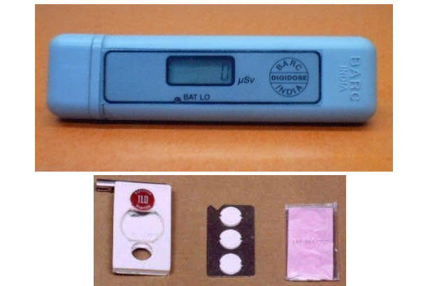 Thermoluminescent Dosimeters (TLDs) and Digital Pocket Radiation Dosimeter